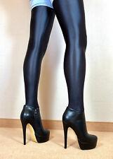 Gr.43 Exklusiv Sexy High Heels Damen Schuhe Stiletto Booties Männer Stiefel F2