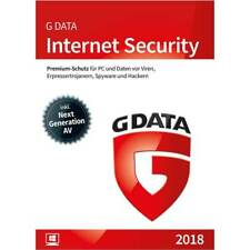 G DATA Internet Security 2018 Windows 1 PC - 1 Jahr (365 Tage) GDATA Vollversion