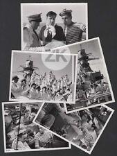 TOURELLE 3 Christian-Jaque BLIER Marin  CUIRASSE Bateau BERTIN 5 Photos 1939
