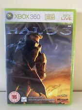 HALO 3 BRAND NEW FACTORY SEALED ORIGINAL RELEASE FOR XBOX 360 MICROSOFT