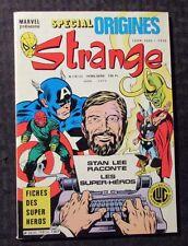1980's Marvel Special Origines STRANGE French Comic #148 FN+ 6.5 Thor Loki