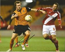 Hand Signed 8x10 photo KEVIN MCDONALD Wolves Wolverhampton Wanderers Football Cl