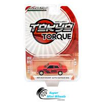 Greenlight 1:64 Tokyo Torque Series 3 1971 Raydaddy Auto Datsun 510 (Red) #85