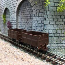 2 wagons à bascule latérale-HOe 1/87-ROCO 34499