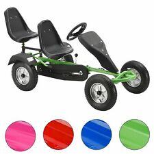 2-Sitz GoKart Tretauto Go-Kart Kinderfahrzeug Tretfahrzeug Kinder ArtSport®