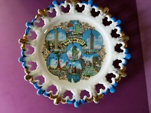 Vintage Souvenir Plate New York City