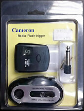 "New Wireless Radio Flash Trigger Kit #5050030 for 3.5mm 1/4"" Nikon Canon Pentax"