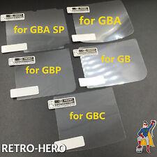 Displayschutzfolie Nintendo Gameboy Classic Color Advance & Pocket Scheibe Glas
