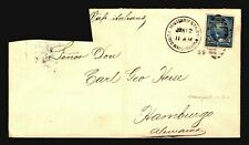 Puerto Rico 1899 Military Station Cover to Germany (See Notes)  - Z19223