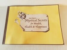 JOAN MARIE'S MYSTICAL SECRETS FOR WEALTH HEALTH & HAPPINESS ~ 2003 SC ~ OCCULT