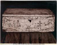 Palermo Palazzo Reale Antico cofanetto Foto originale albumina Brogi 1890c L807