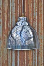 INDUSTRIAL METALLO LUCIDO soffitto luce ombra pendente ciondolo Lampada dag3