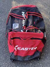 EASTON SYNERGY ELITE WHEEL BAG, RED/BLACK USED HOCKEY