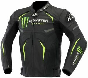 Alpinestars Hellhound Monster GP Pro Leather Sport Motorcycle / Motorbike Jacket