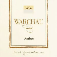 """New Warchal Amber Viola String Set 4/4 --16-17"""" --Wound A"""