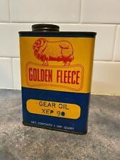 Golden Fleece 1 Quart oil tin