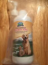 OMEGA 3 Fish Oil - Nutritional Supplement for Dogs & Cats - Wild Alaskan Salmon