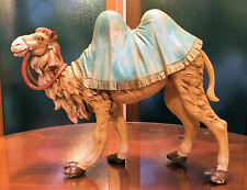 Vintage 12� Fontanini Nativity Standing Camel Italy 1985 Depose