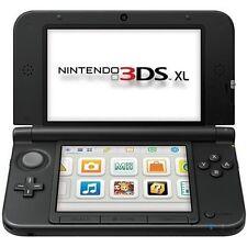 "Nintendo 3DS XL System 4.9"" Active Matrix TFT Color LCD Black Dual Screen 8Z"