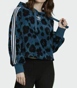 adidas Originals Women's Bellista Sherpa Hoodie NWT Size M