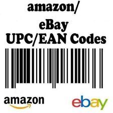 KIT 1000 compatibili EAN UPC codici a barre per tutti i marketplace ottimi