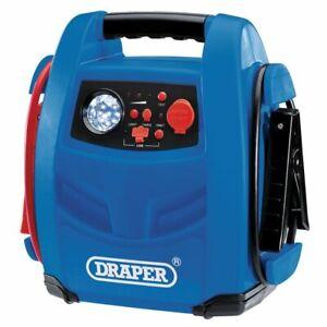 Draper 70533 12V 800A Power Pack Battery Charger Jump Starter & Air compressor