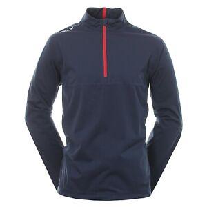 RLX Ralph Lauren Stratus 1/2 Zip Water Repellent Jacket (M) Navy BNWT RRP £155