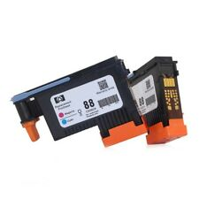 2X Printhead Black/Yellow For HP 88 C9382A K550 K8600 K8500 K5300 K5400 L7380