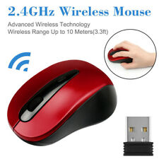 2.4Ghz Mini Wireless Optical Gaming Mouse Mice+USB Receiver For PC Laptop