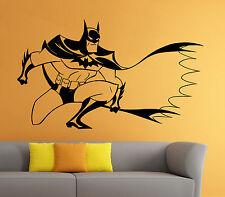Batman Wall Decal Superhero Vinyl Sticker The Dark Knight Atr Home Decor (14b2j)