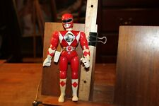 "Vintage 1994 Bandai Power Rangers Red Action Figure 8"" Jason Karate Action"