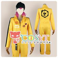Dangan Ronpa 2 Souda Kazuichi Cosplay Costume Yellow Set All Size Custom Made