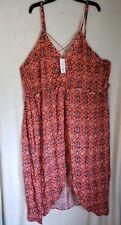 Xhilaration Women's Coral dress 4X (P)
