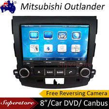 "8.0"" Car DVD Plyaer GPS Head Unit For MITSUBISHI OUTLANDER 2007-2012 Free Camera"
