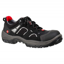 UK Size 4  Ejendals  JALAS Drylock 3305 Safety Shoes trainers - Black & Grey NEW