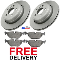 FOR ROVER 75 (1999-2006) REAR BRAKE DISCS AND PADS SET *BRAND NEW*