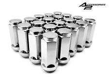 24 Pc 1988-2020 CHEVROLET 1500 CHROME SOLID LUG NUTS 14m x 1.50  # 1909L