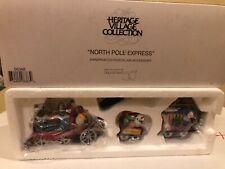 """Department Dept 56, Heritage Village """"North Pole Express"""" #56368 never displayed"""