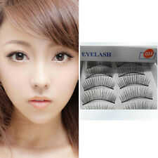 10Pairs Makeup Handmade Natural Fashion Thin False Eyelashes Eye Lashes Beauty