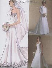 M 4776 Patron Robes de mariée T40-46