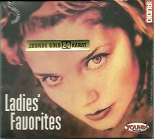 Ladies' Favorites Various 24 Karat Zounds Gold CD NEU OVP Sea Audio's A. Vol. 19