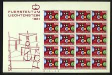 1961 Liechtenstein SC 368 Souvenir Sheet Europa MNH - Fuerstentum Liechenstein*