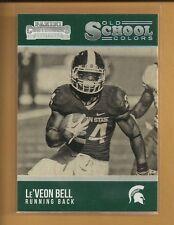 Le'Veon Bell 2016 Contenders Draft Old School Colors Card # 14 Steelers Football