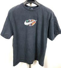 Vintage Nike Rare 90s Football Helmet Black Promo T-Shirt Xl Double Sided