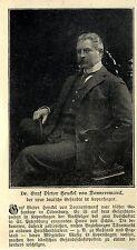 Dr.Graf Victor Henkel von Donnersmarck Deutscher Botschafter in Dänemark 1906