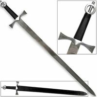 Irish Middle Ages Knight Sword Medieval Knightly Broadsword '