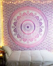 Hippie Mandala Bohemian Psychedelic Cotton Tapestry Wall Hanging Dorm Decor