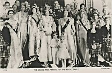 The Queen Elizabeth II and Members of the Royal Family - Tuck's Real Photograph