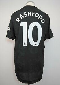 Manchester United Away/3rd Player/Match Issue Shirt Size 6 RASHFORD 2019/2020
