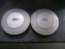 ford alloy steel wheel centre cap x2        91ab1130ab     c8 c9a